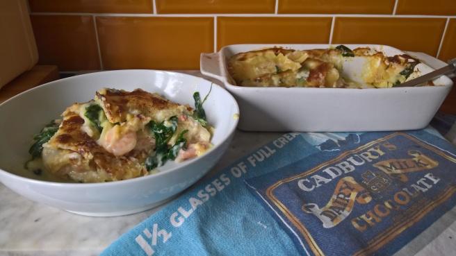 Easy Seafood Lasagne Recipe