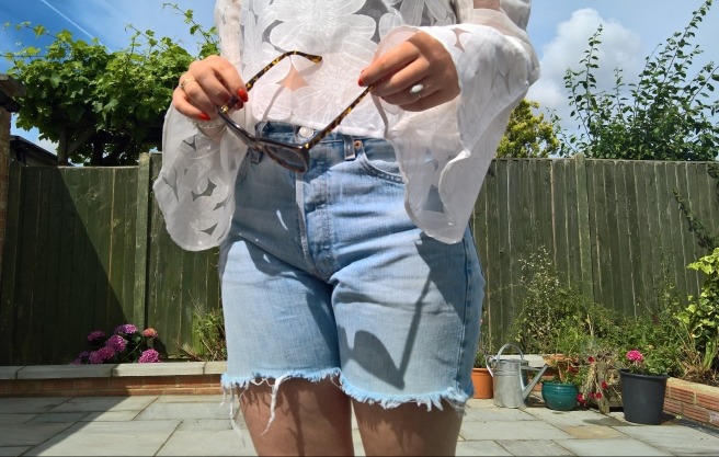 Summer Capsule Wardrobe Essentials Flared Sleeve white lace top