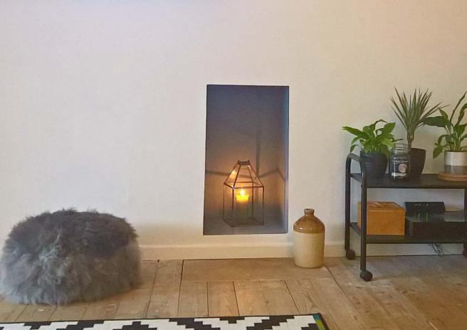 Closed Fireplace Design Inspiration. Dulux Denim Drift 2017