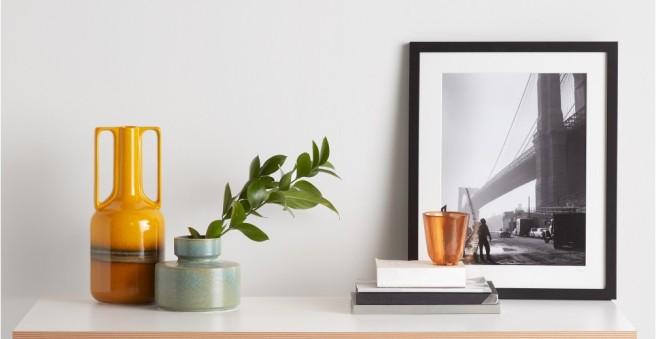California Mid-Century Orange Retro Vase