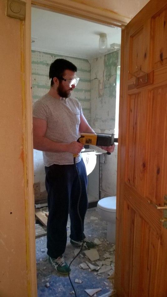 small family bathroom renovation