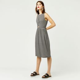 Front Twist MonoChrome Dress summer/autumn 2017