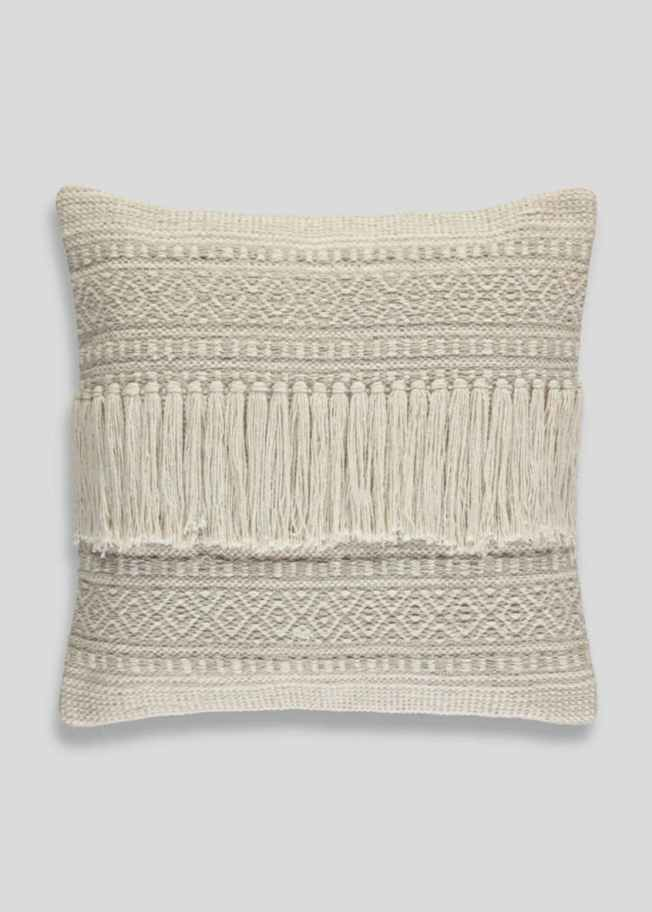 Fringed Cushion £12