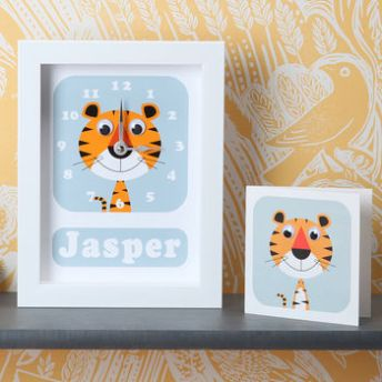 Personalised Childrens Clock Best Birthday presents for toddlers